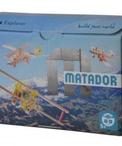 Dřevěná stavebnice letadla - dárek pro kluky