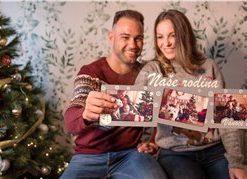 Rámeček na 3 fotky s vánočním motivem