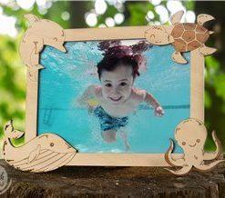 Originální rámeček na fotku dítěte