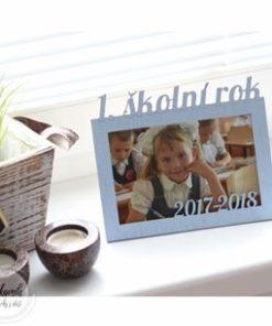 Dárek pro prarodiče - 1. den vnuka ve škole
