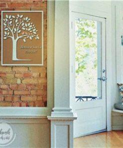 Svatební dárek na míru - kniha hostů ve formě stromu