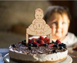 Originální ozdoba na dort nebo k dárečku