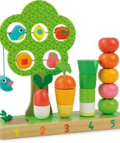 dárek pro batole - dřevěná zahrádka