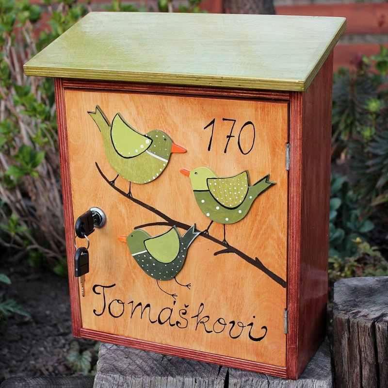Personalizovaný dárek - poštovní schránka