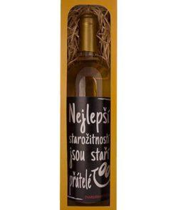 Dárkové bílé víno - dárek pro kamaráda