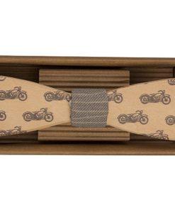 Dřevěný motýlek - Motorka