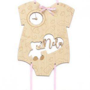 Originální dárek pro miminko - rámeček k oslavě dne, kdy se zastavil čas