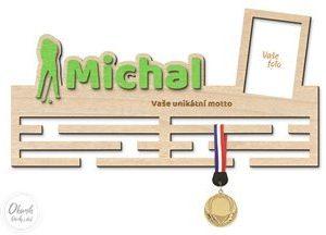 Dárek pro golfisty - věšák na medaile