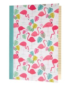 Zápisník A5 Rex London Flamingo Bay, 60stran