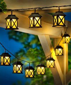 LED osvětlení Lucerničky, 15 ks