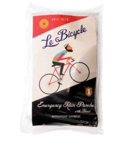 Jednorázová pláštěnka s kapucí na kolo Rex London Le Bicycle