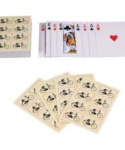 Žolíkové karty v cínové krabičce Rex London Bicycle