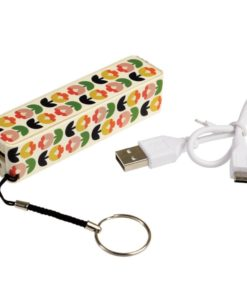 Přenosná USB nabíječka Rex London Power Bank Tulip Bloom