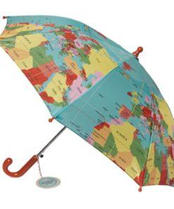 Dětský holový deštník Rex London World Map, ⌀70cm