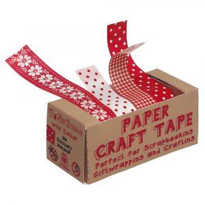 Sada 4 papírových pásek Rex London Scandi