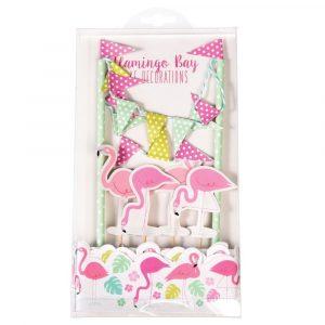 Set na zdobení dortu Rex London Flamingo Bay
