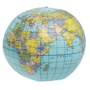 Nafukovací globus Rex London World Map
