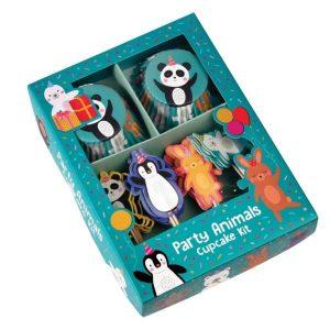 Set na zdobení cupcaků Rex London Party Animals