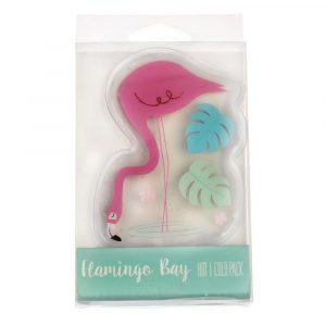 Nahřívací i chladící gelový polštářek Rex London Flamingo Bay
