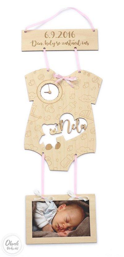 dárek ke křtinám a narození miminka