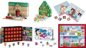 Adventní kalendáře pro děti