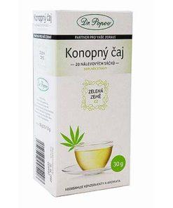 dr. Popov CBD Konopný čaj porcovaný 30 g