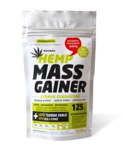 Zelená Země Konopný gainer Fitness 125 g