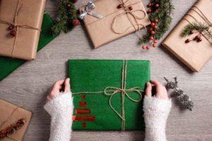 Článek - tipy jak zabalit vánoční dárek