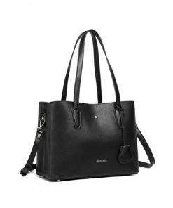 Černá kabelka přes rameno Tote