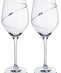 Dárková sada skleniček na víno se Swarovski® Elements