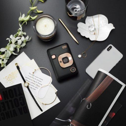 Instantní černý fotoaparát Mini LiPlay