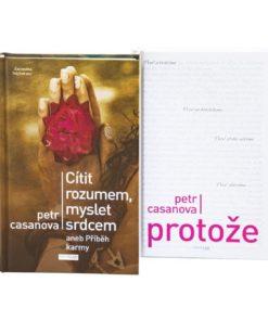 Sada knih Petra Casanovy - Cítit rozumem, myslet srdcem + Protože