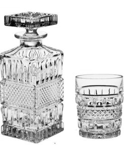 Whisky set Crystal Bohemia BRITTANY (1+6)