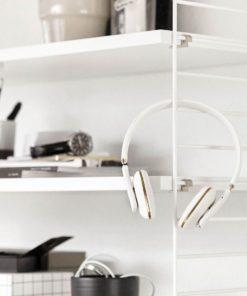 Bezdrátová bílá sluchátka aHEAD