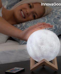 Nabíjecí LED lampa měsíc