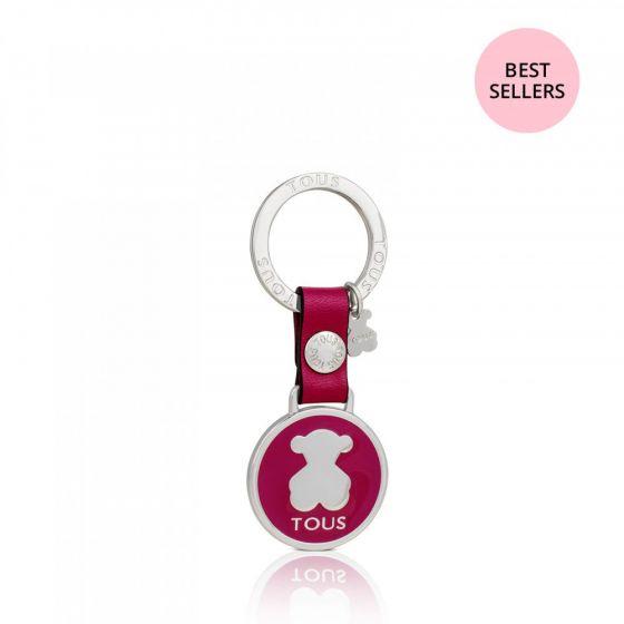 přívěsek na klíče tous růžový-min
