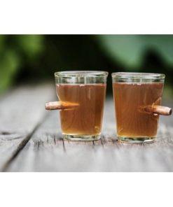 Prostřelené pohárky 100ml - 2ks
