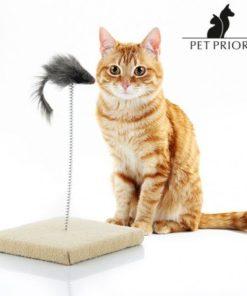 Škrabadlo pro kočky s myší