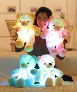Svítící medvídek 50 cm