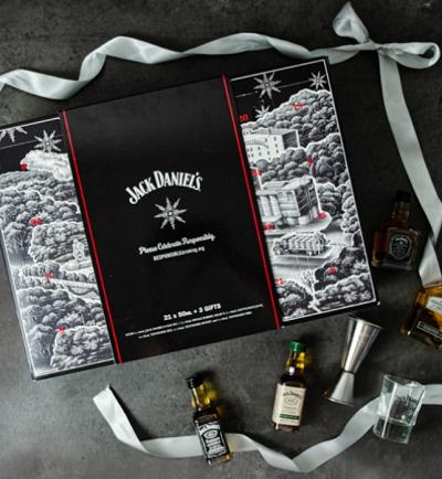 whisky adventní kalendář