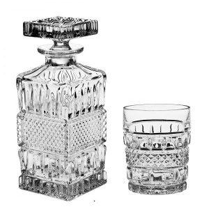 Whisky set Crystal Bohemia BRITTANY (1+6)