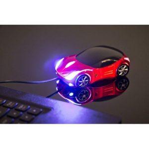 PC myška ve tvaru auta