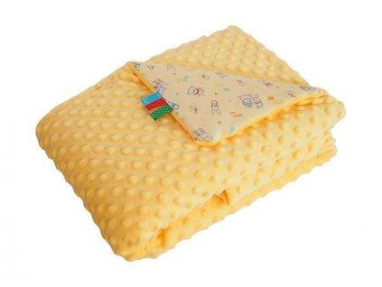 měkká deka pro miminko