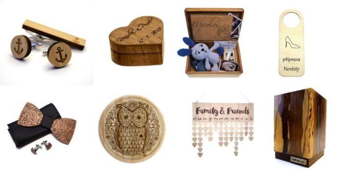 personalizovaný dárek ze dřeva
