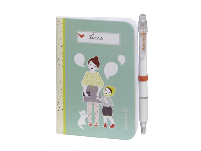 Zápisník na vtipná slovíčka miminka-min
