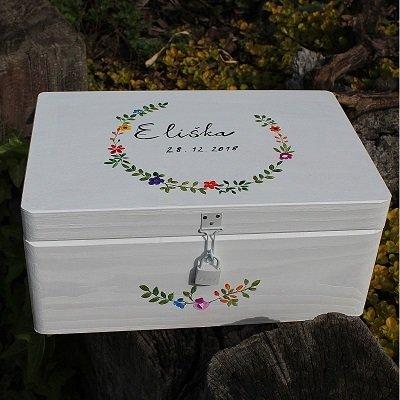 Krabička na vzpomínky pro miminko