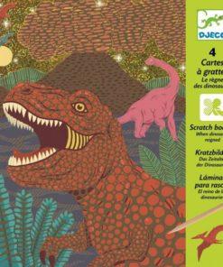 Vyškrabávání - Dinosauři