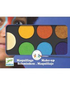Obličejové barvy