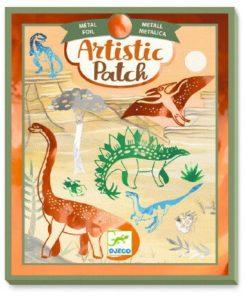 Umělecké kreativní koláže pro kluky- Dinosauři