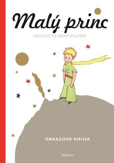 Obrazová kniha - Malý princ - valentýn pro muže